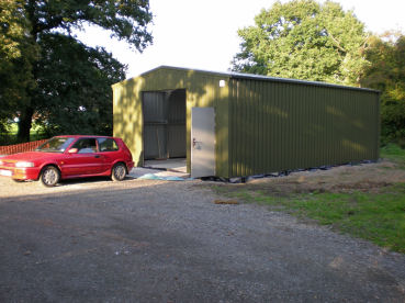 New building at Alvecote Wood